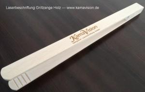 Lasergravur Grillzange Kamavision
