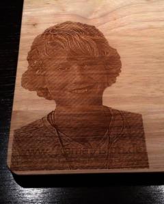 Lasergravur Holz Laserbeschriftung