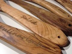 Lasergravur Laserbeschriftung Holzgravur Holz Holzgravur Gravur Beschriftung Kamavision