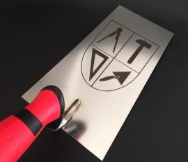 Lasergravur Metall Laserbeschriftung