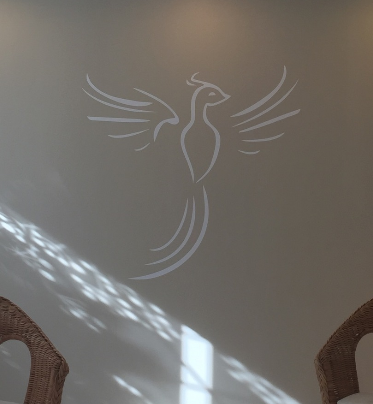 Folienbeschriftung Wandtatoo Logobeschriftung