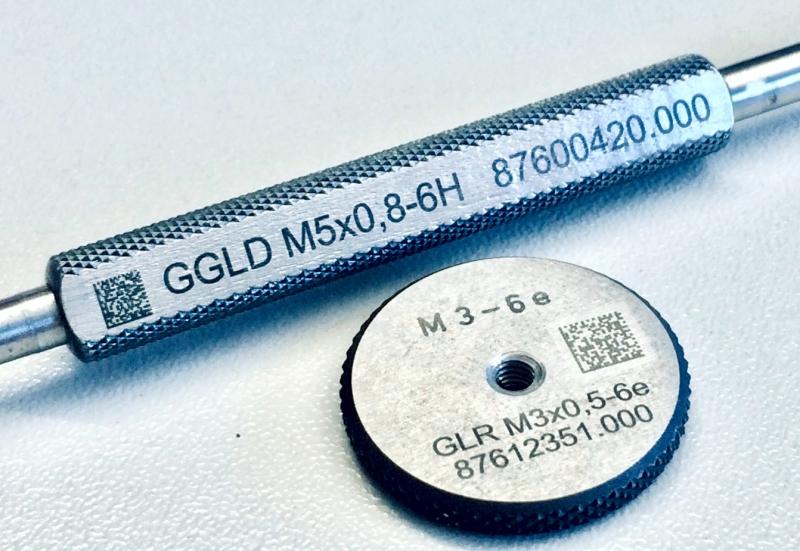 Lasergravur Prüflehren Industrie www.kamavision.de