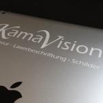 IPad Lasergravur www.kamavison.de